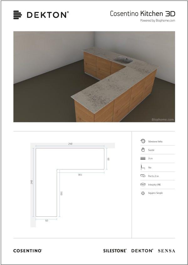 Image of 3dkitchen pdf in 3D køkken - Cosentino
