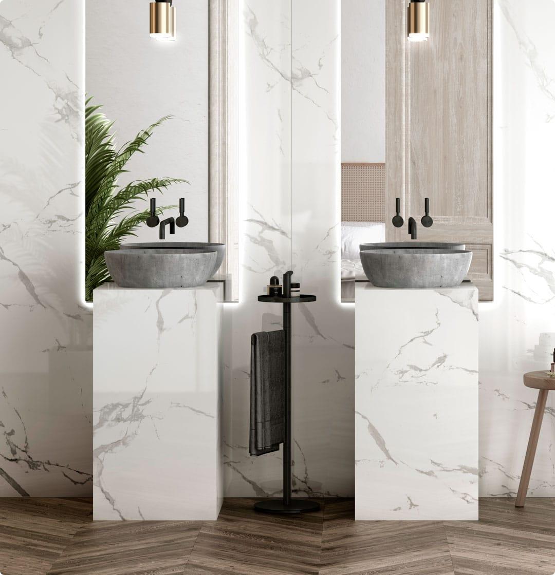 Image of 9 5 in Dekton   Bathroom Worktops - Cosentino