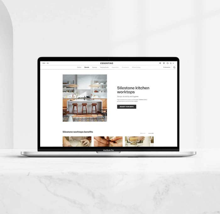 Image of descargable email copia in Do you dream of the perfect white kitchen? - Cosentino