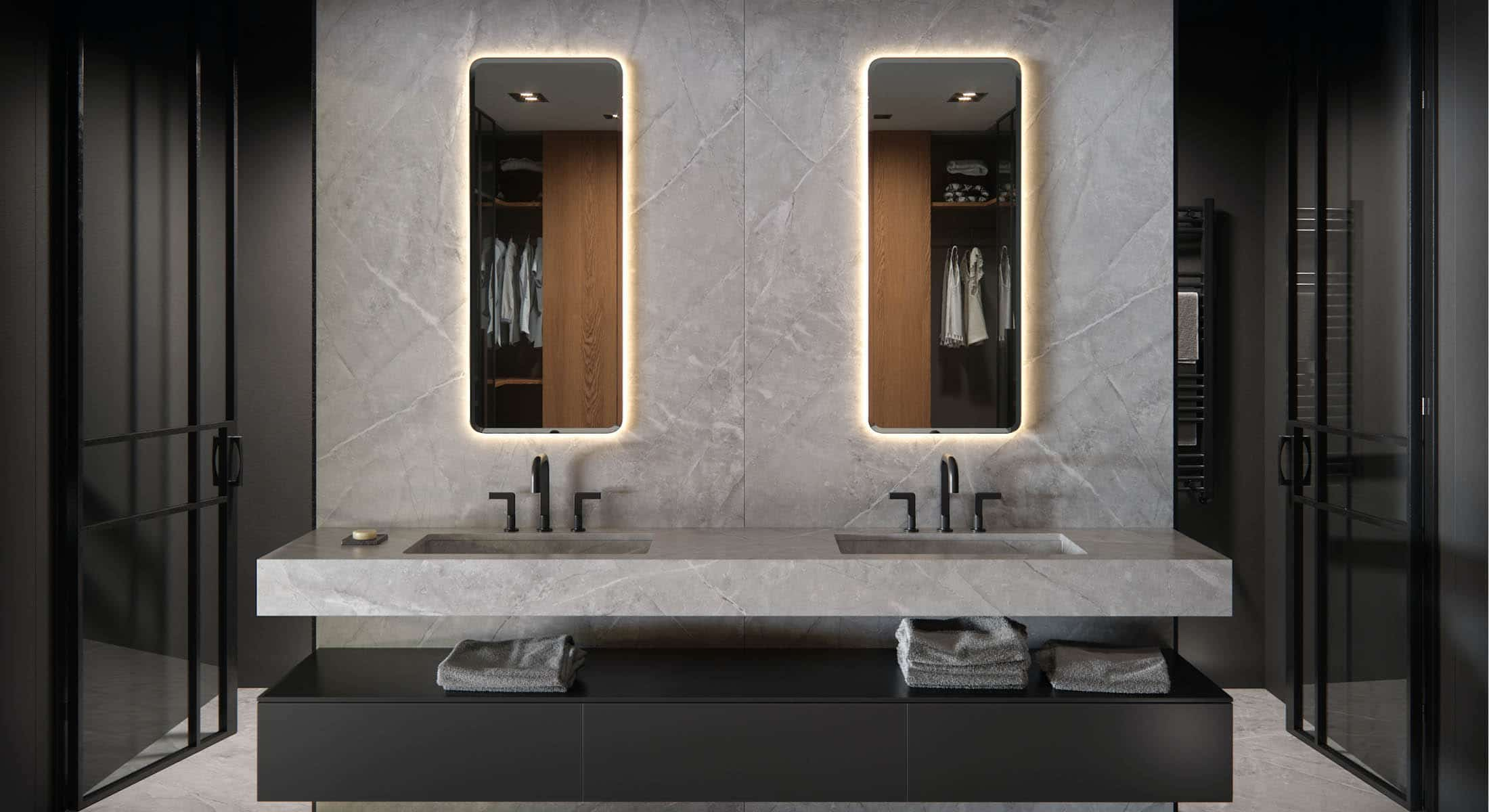 Image of large baños in Badezimmer - Cosentino