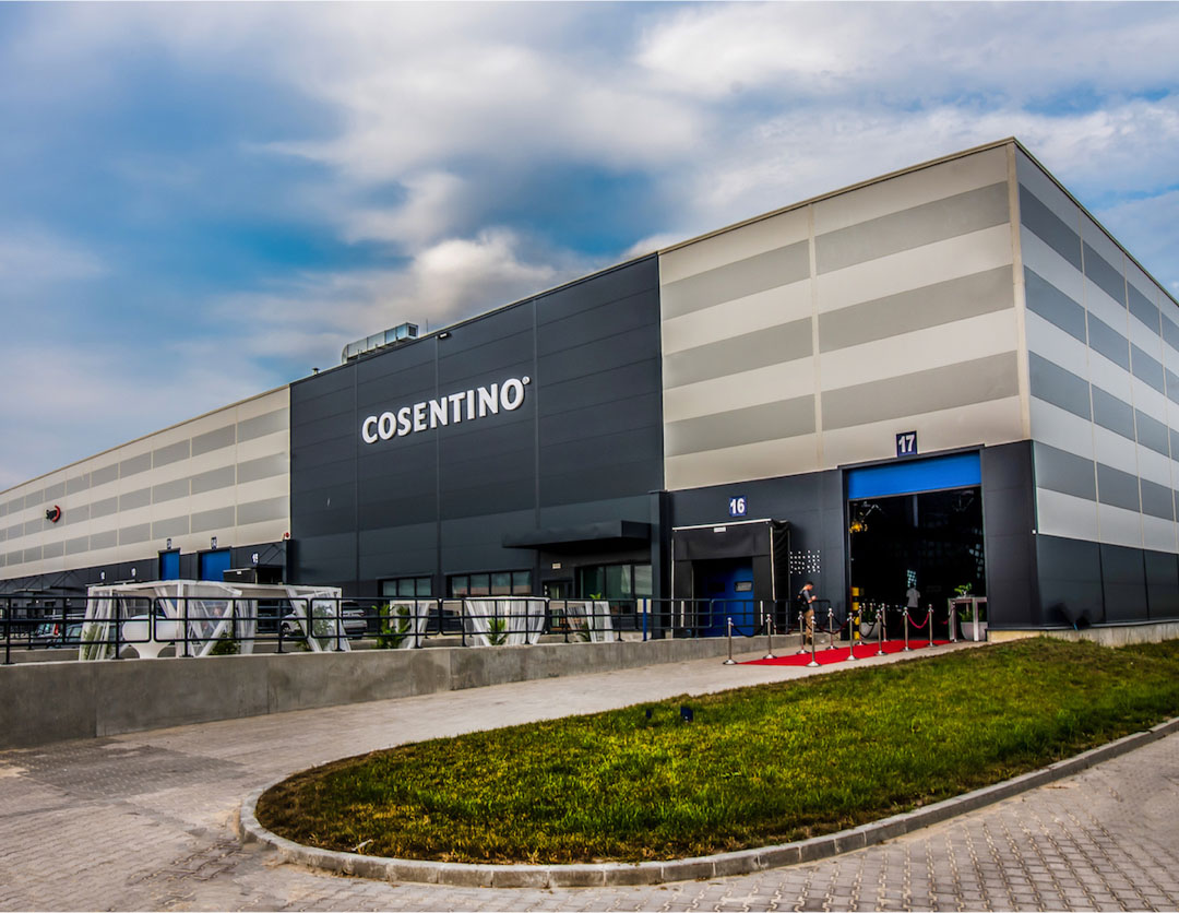 Image of cosentino center copia in Fußbodenbelag - Cosentino