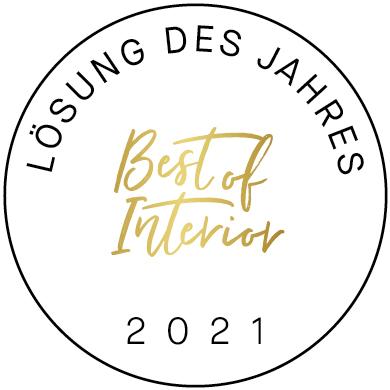 Image of Siegel BestofInterior 2021 Loesung in Cosentino Center Düsseldorf mit neuer Führung - Cosentino