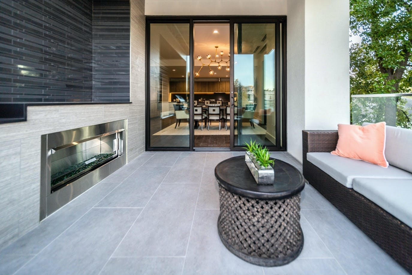 Image of terraza 1 in Terraces: the protagonists of a summer at home - Cosentino