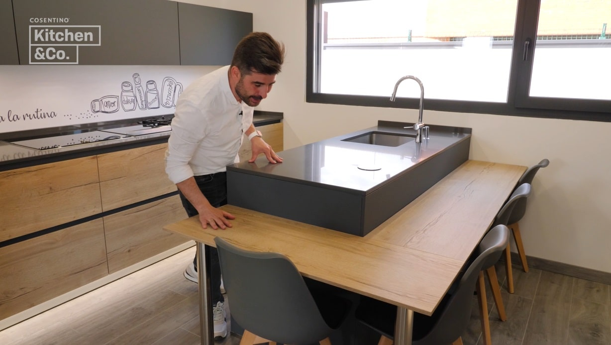 Peninsula kitchens have become a trend