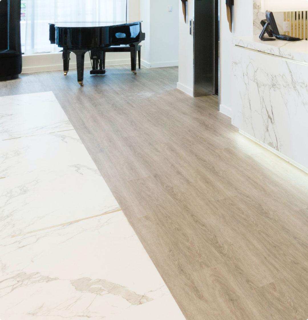 Image of cabecera sol suelos y pav in Floor Coverings - Cosentino