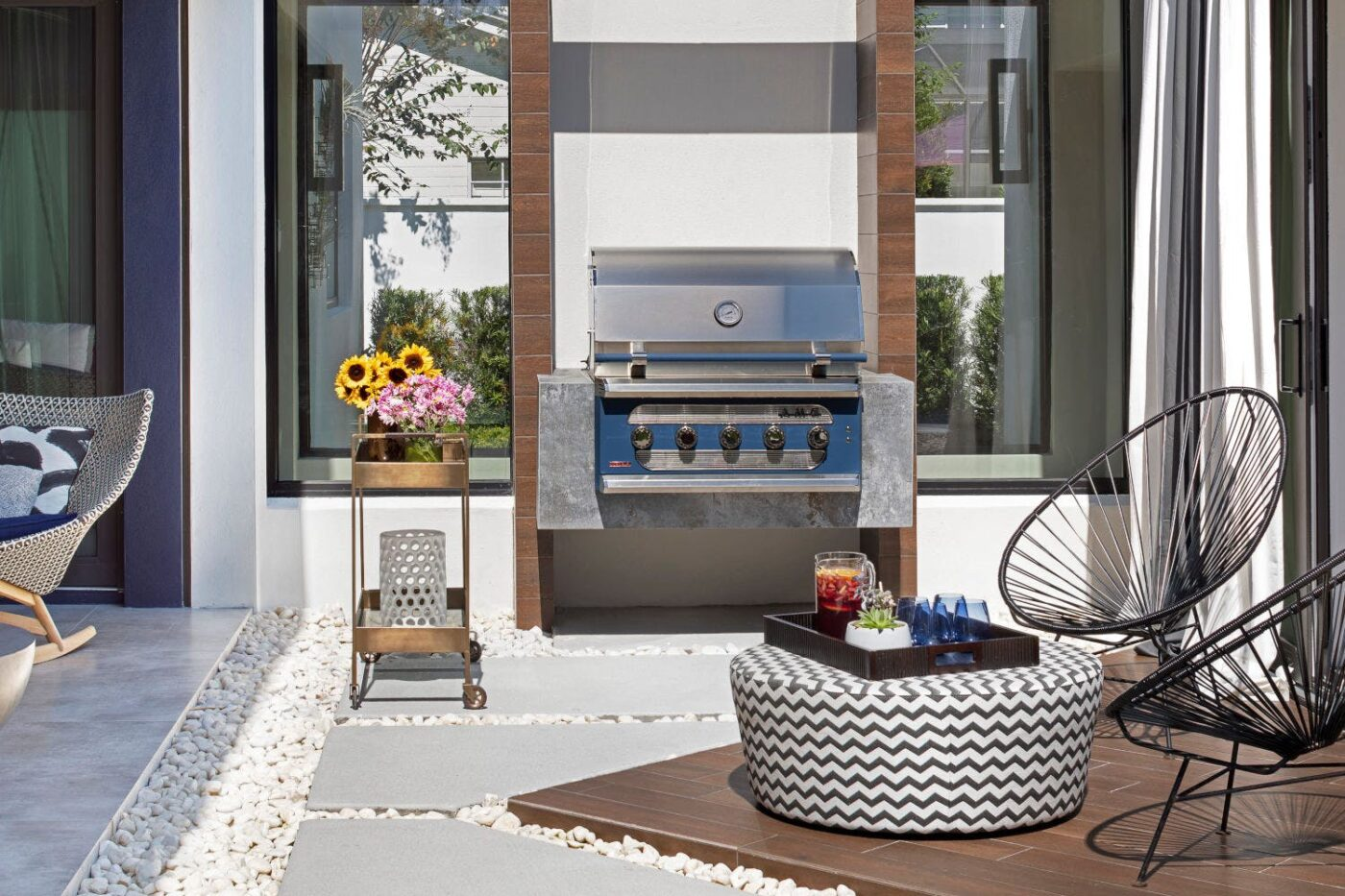 Image of Barbacoa Orix de Dekton Copyright Jessica Klewicki in Terraces: the protagonists of a summer at home - Cosentino