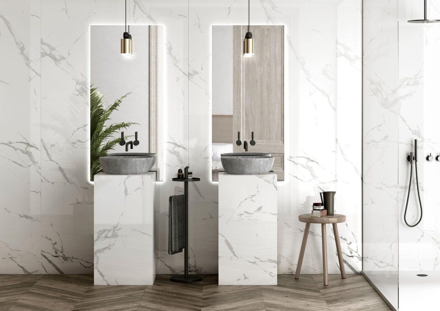 Image of Dekton Bathroom Natura 18 in Dekton | Furniture - Cosentino