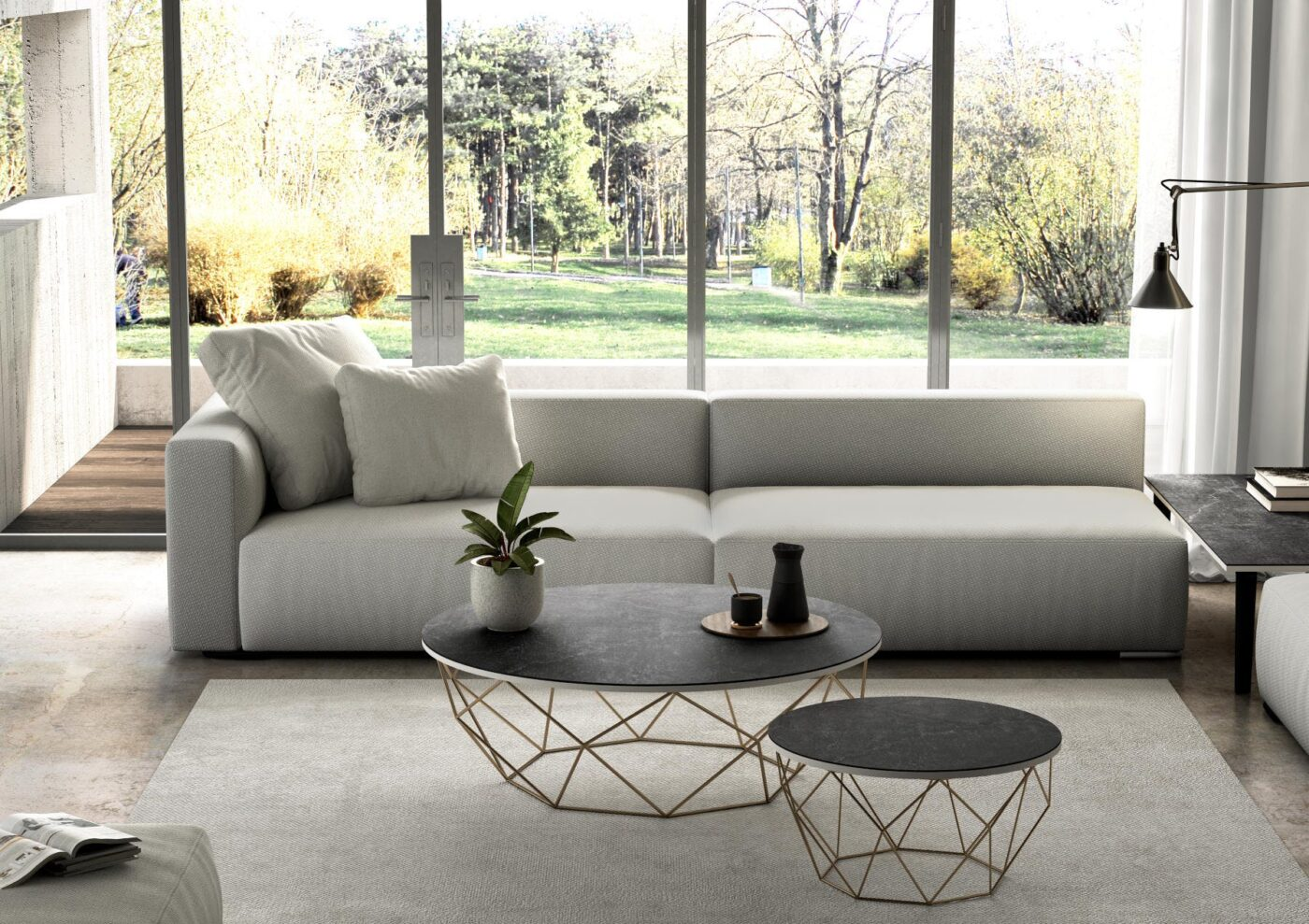 Image of Mesa Dekton Slim Table Detalle Laos 2 1 1 in Terraces: the protagonists of a summer at home - Cosentino