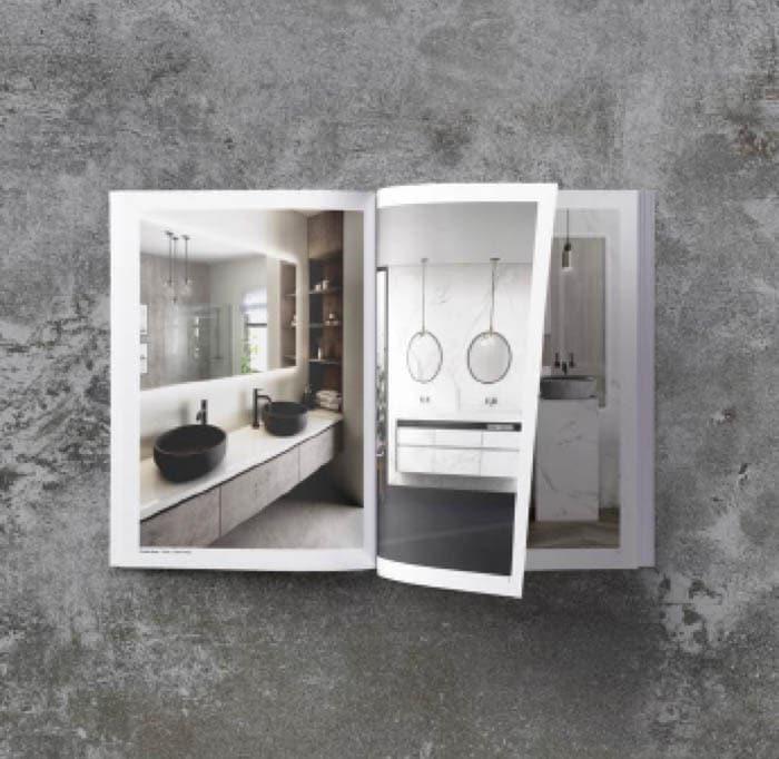 Image of Descargable encimeras baños platos copia in Dekton   Showertray - Cosentino
