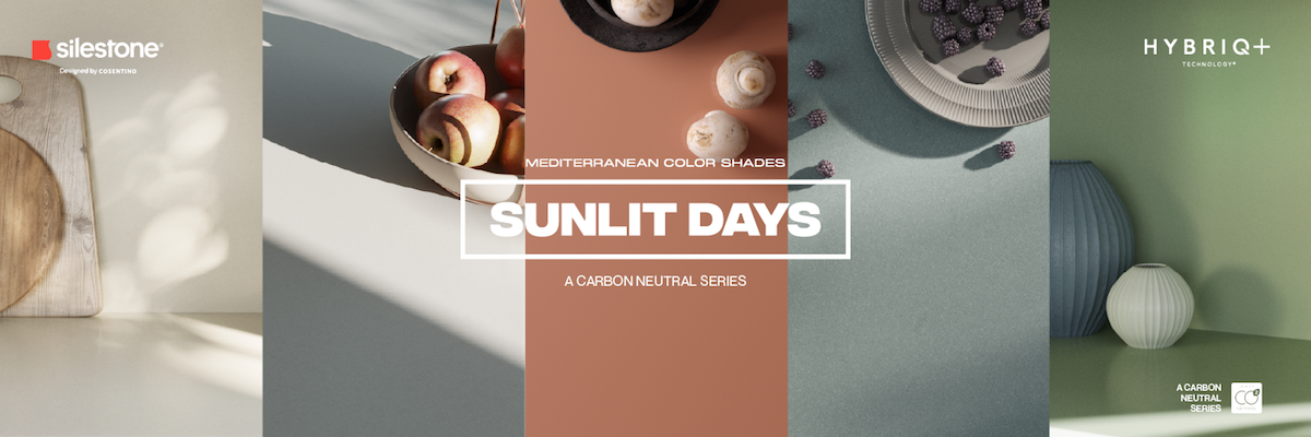 Image of SunlitDays 2 in Introducing Silestone Sunlit Days, Cosentino's first carbon-neutral collection - Cosentino