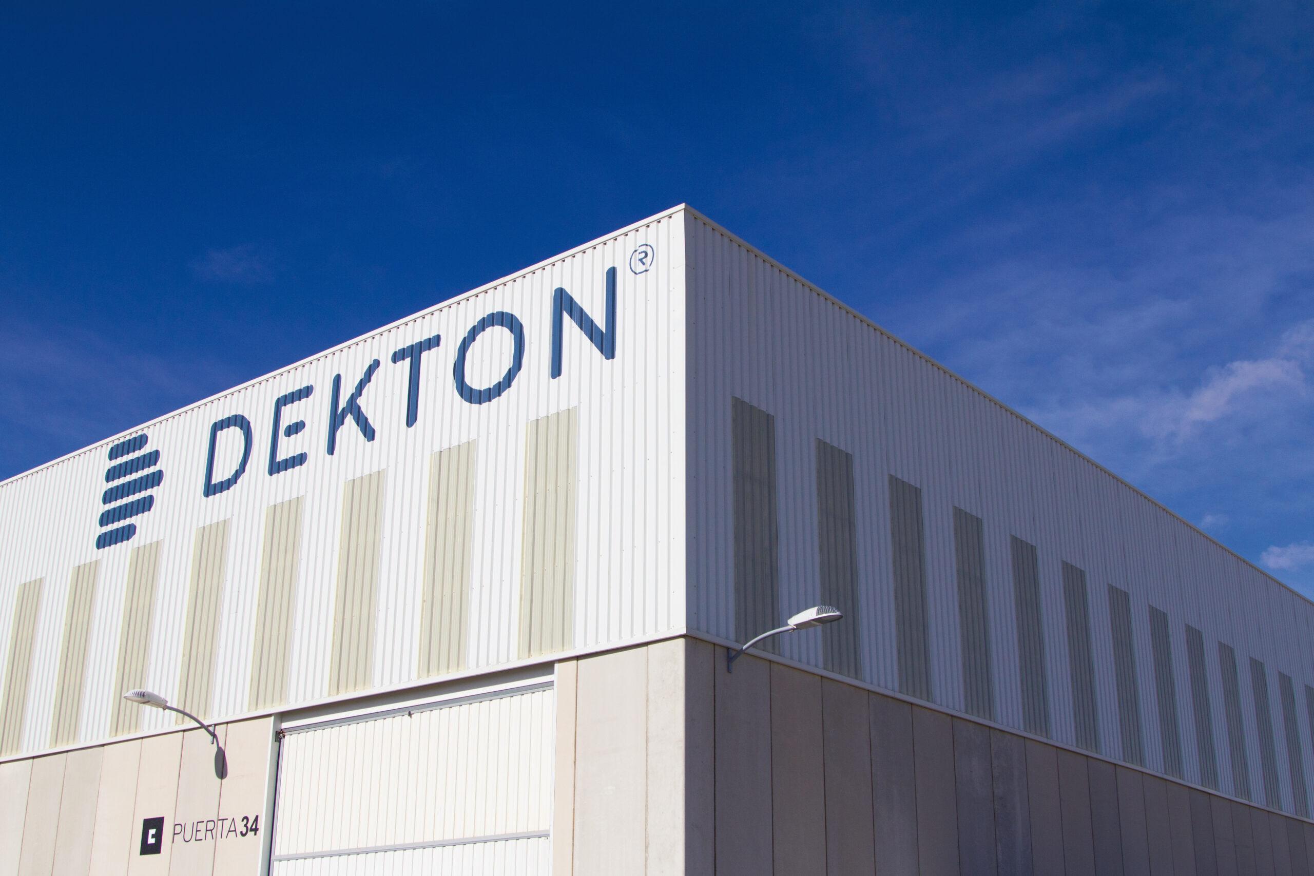 Image of dekton fabrica exterior 2 scaled in Dekton by Cosentino receives International Environmental Product Declaration - Cosentino