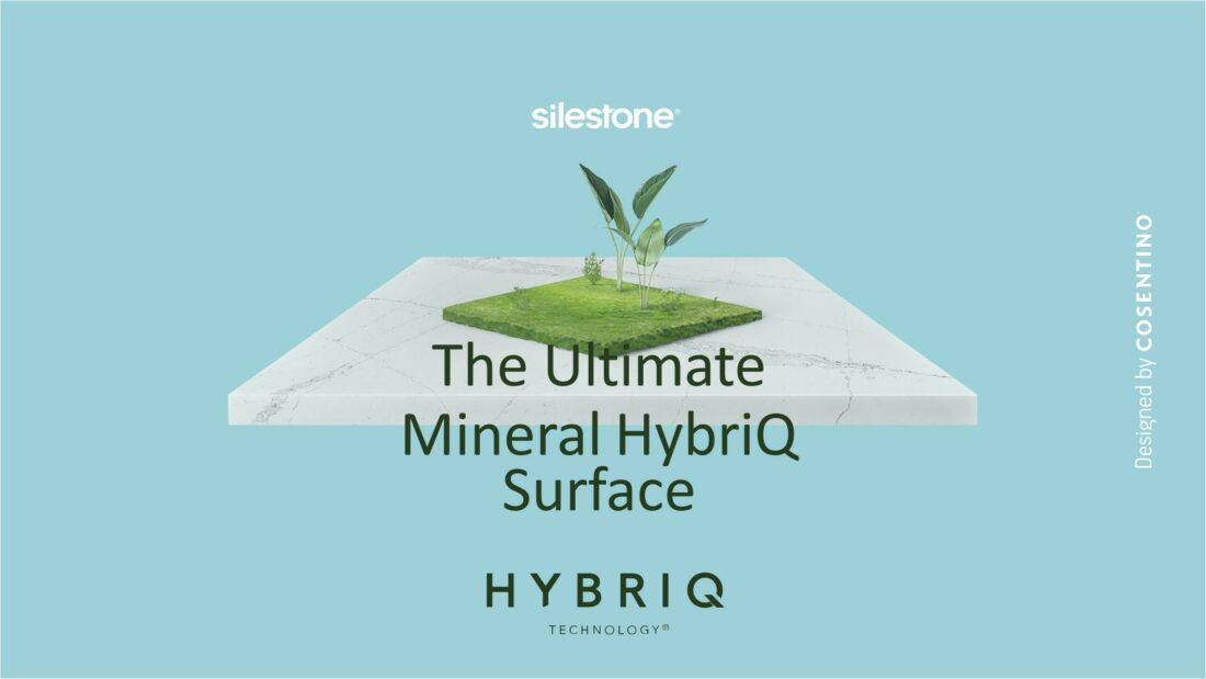 A new era for Silestone® begins with the launch of HybriQ®, the responsible and sustainable surface
