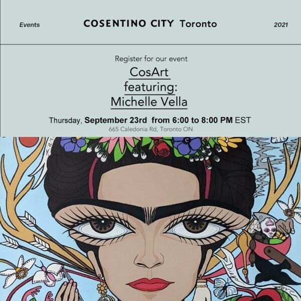 Image of 242010423 896622347900959 7521330065250830511 n in Cosentino to showcase pop artist Michelle Vella's artwork at Toronto City Showroom CosArt Event - Cosentino