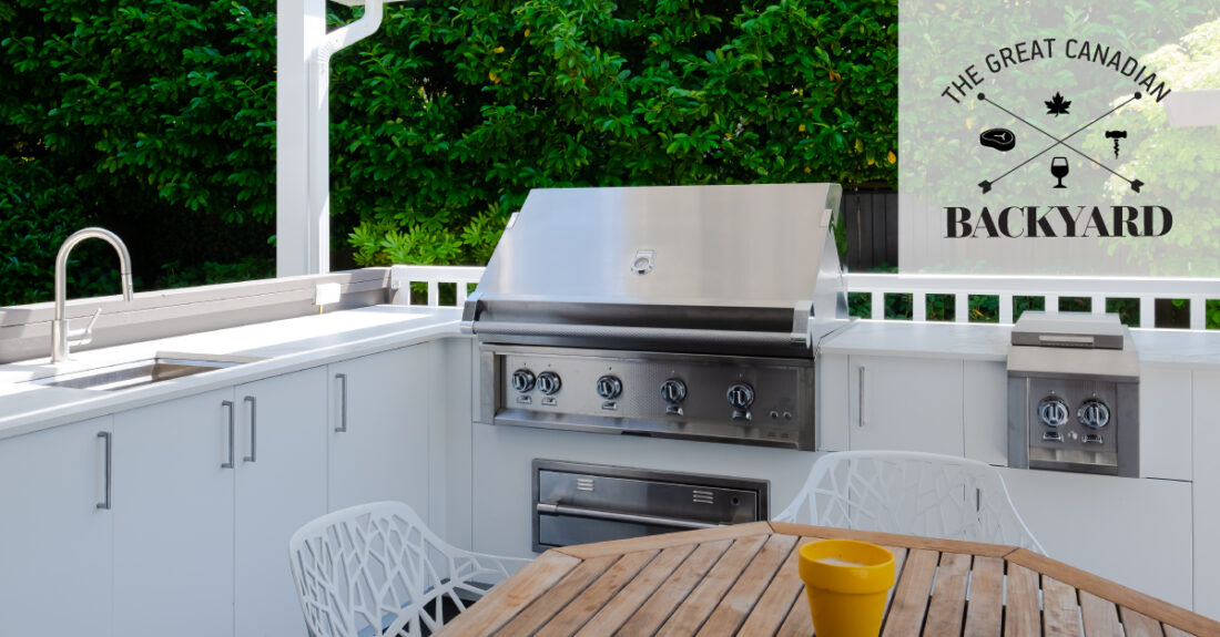 Great Canadian Backyard Series: Urban Bonfire, Kerrisdale Lumber and Sherwood Outdoor Kitchens team up to create a backyard that dreams are made of