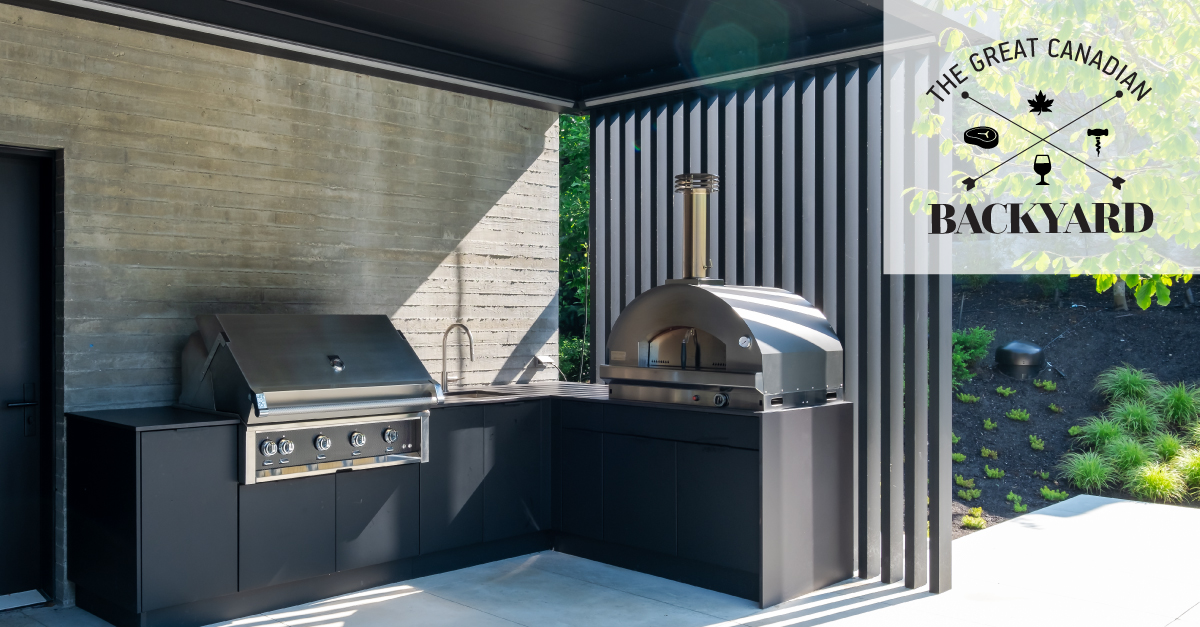 Image of FB CdnBackyard 3 in Great Canadian Backyard Series: Sherwood Outdoor Kitchens creates the ultimate entertaining outdoor living space - Cosentino