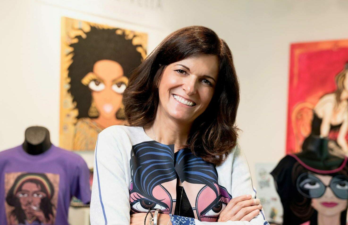 Image of Michelle Vella 1 1632241723 99.245.1.193 e1632243929654 in Cosentino to showcase pop artist Michelle Vella's artwork at Toronto City Showroom CosArt Event - Cosentino