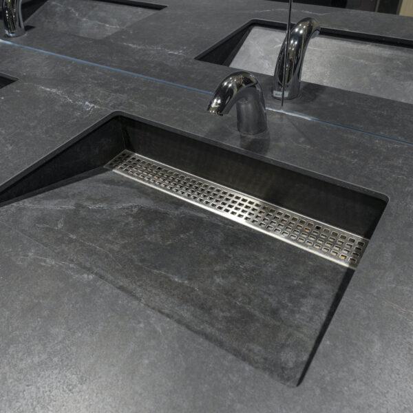 Image of integrated sink in Designer Spotlight: Winnipeg's Grant Design Group - Cosentino
