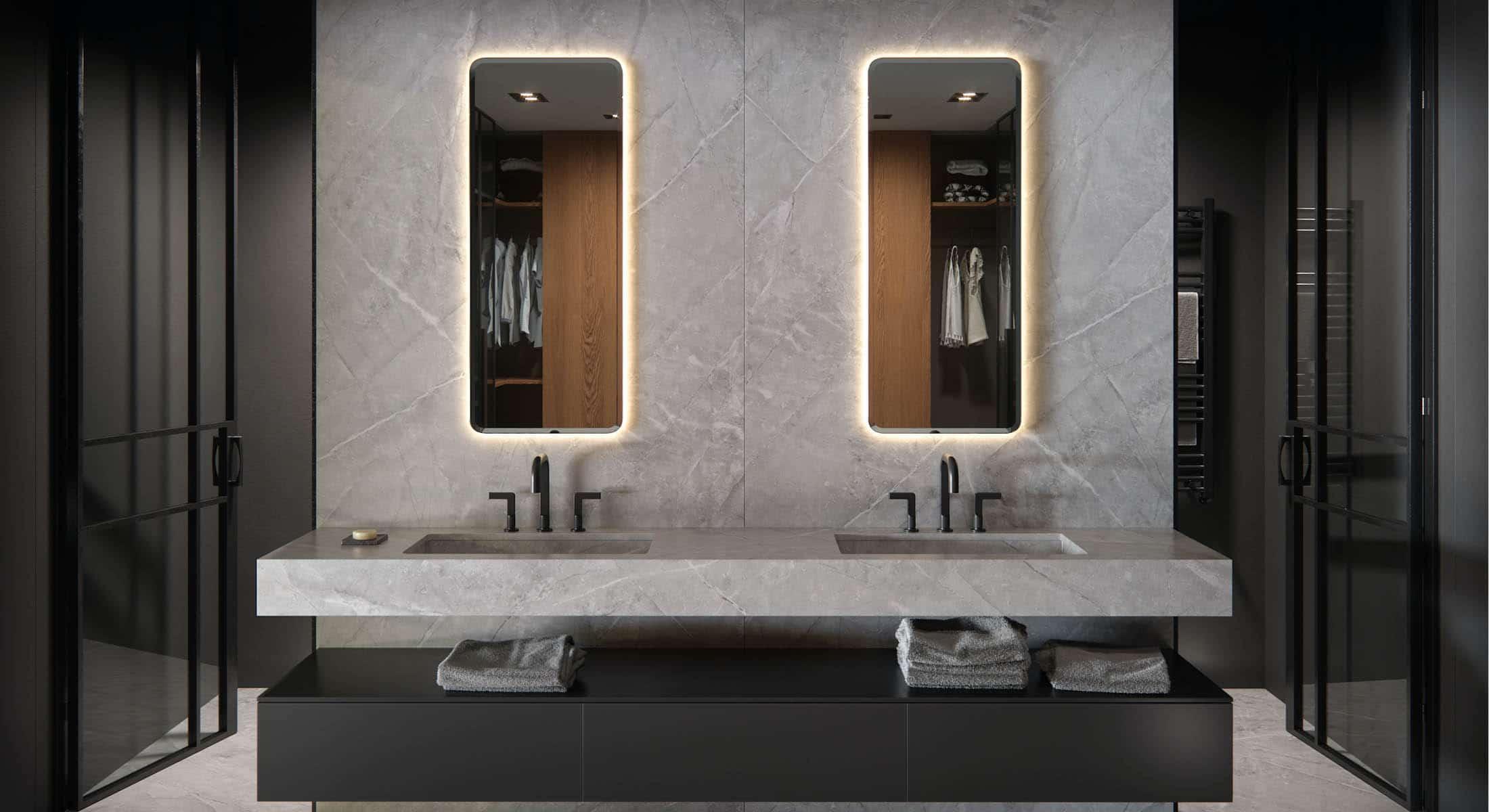 Image of large baños in Bathrooms - Cosentino