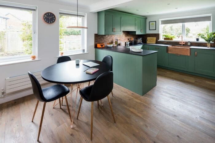 Making the kitchen the heart of the home