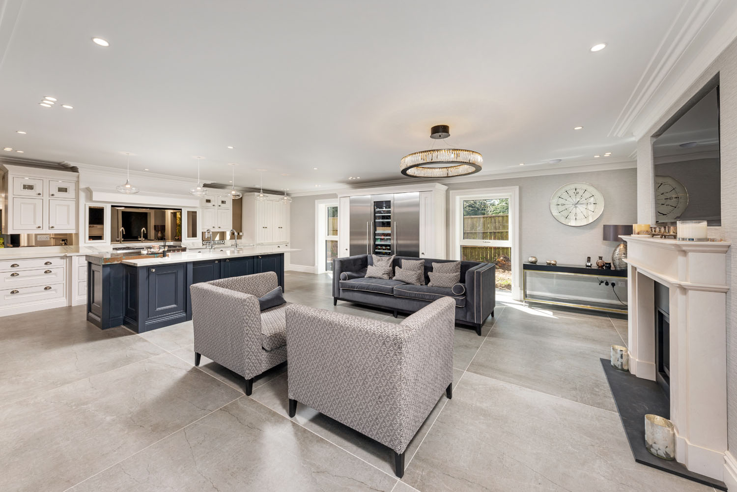 Image of 01 in Dekton Flooring and Kitchen Worksurfaces Add Timeless Elegance to This Classic Family Home - Cosentino
