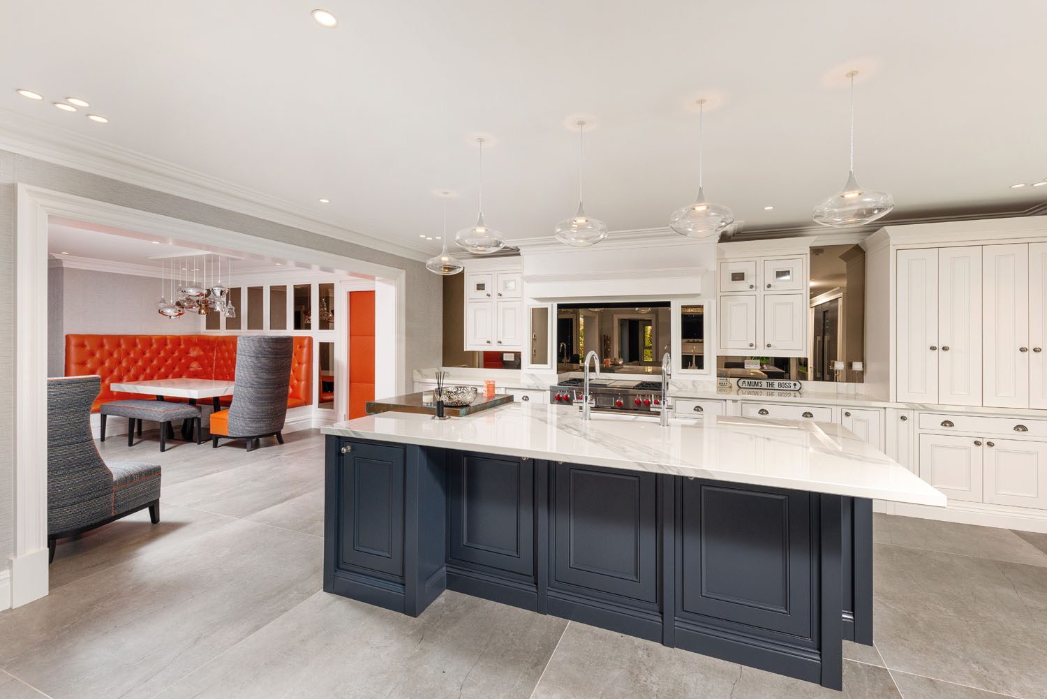 Image of 09 in Dekton Flooring and Kitchen Worksurfaces Add Timeless Elegance to This Classic Family Home - Cosentino
