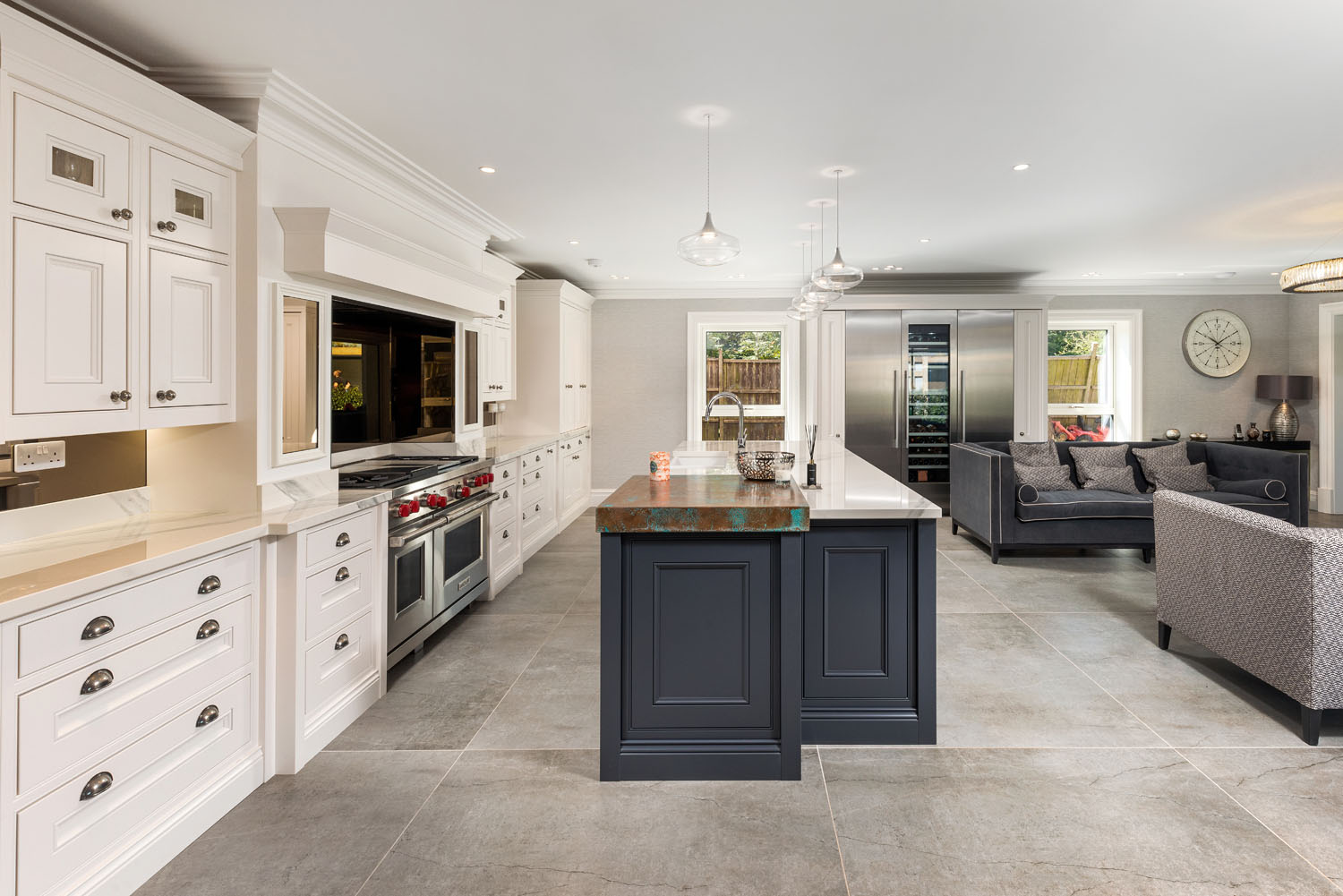 Image of 11 in Dekton Flooring and Kitchen Worksurfaces Add Timeless Elegance to This Classic Family Home - Cosentino