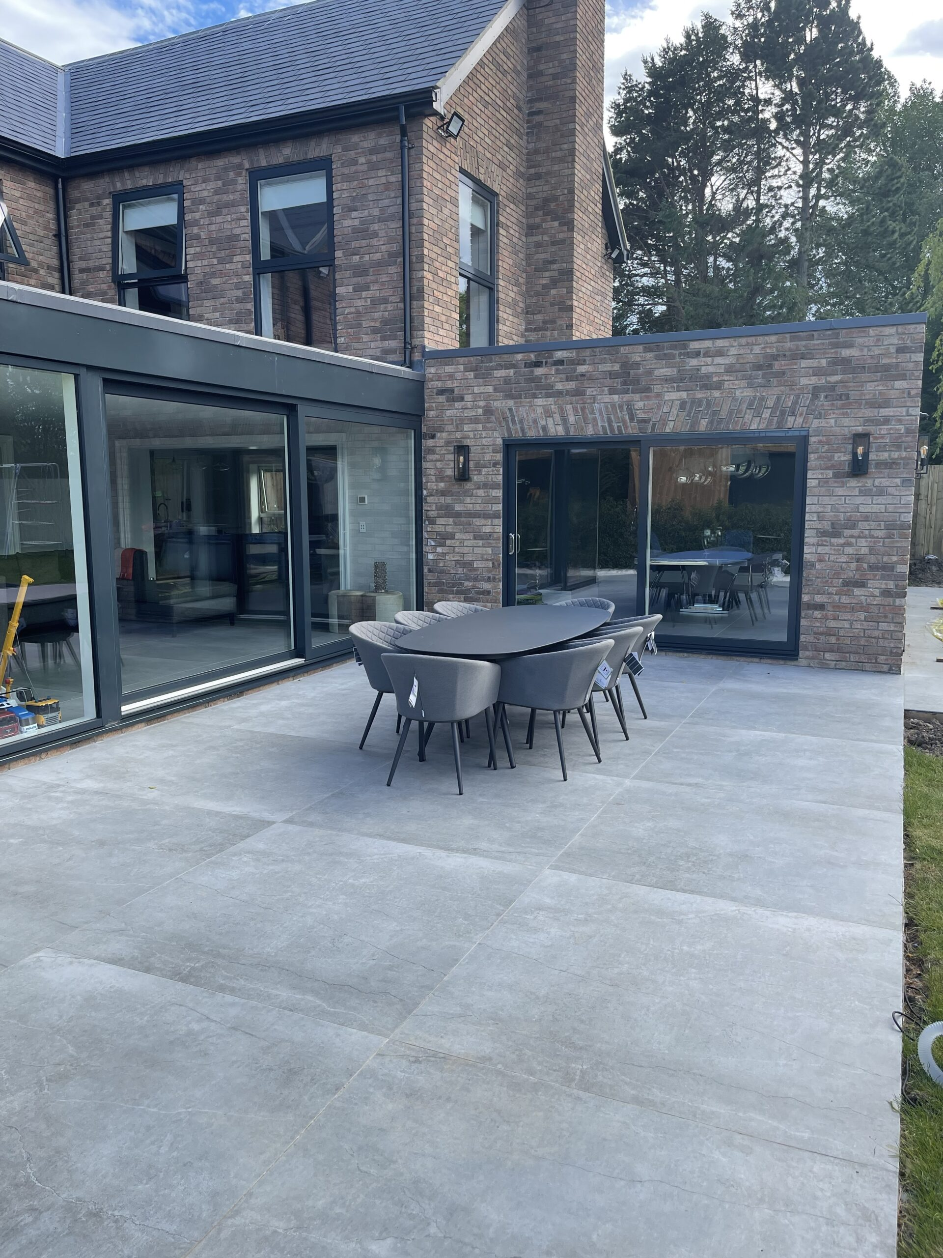 Image of Outdoor Image scaled 1 in Dekton Flooring and Kitchen Worksurfaces Add Timeless Elegance to This Classic Family Home - Cosentino