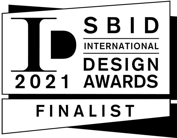 Image of FINALIST SBID Awards 2021 Logo Landscape BLACK copy in Vote for Silestone Sunlit Days in the SBID International Design Awards 2021 - Cosentino
