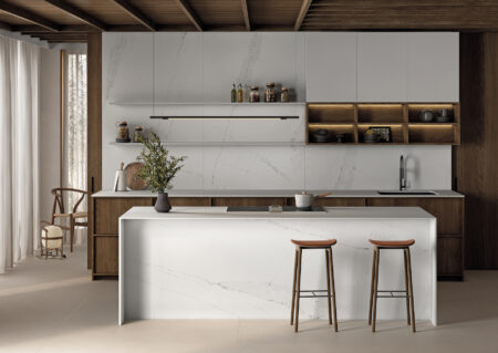 Image of Silestone Ethereal Dusk Lifestyle Kitchen 1 in FX International Interior Design Awards Recognises Silestone Sunlit Days as a Finalist - Cosentino