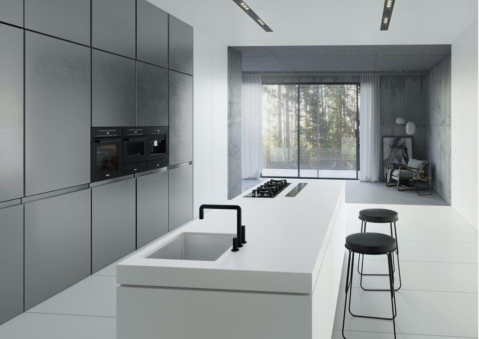 Image of dekton kitchen uyuni in 3D Kitchen - Cosentino
