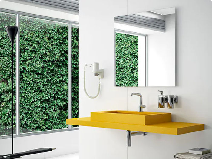 Image of img banos revest interesarte 2 in Bathroom claddings - Cosentino