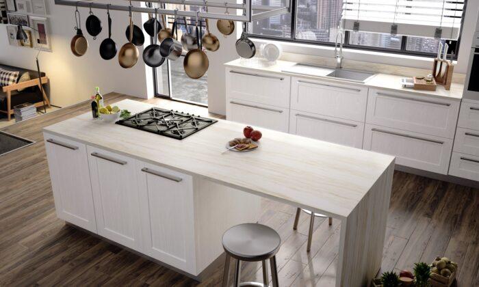 Image of RS11286 Dekton Kitchen 2 Sand Drift 2 in Home Cosentino - Cosentino