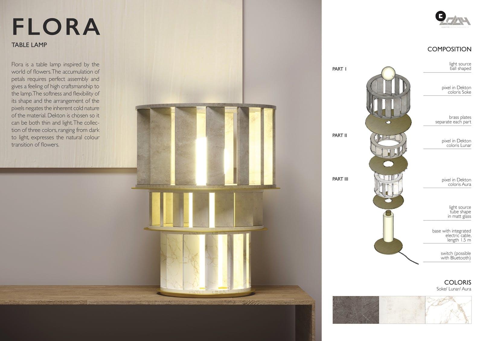 Image of 071 FLORA s 1 in Ganadores Cosentino Design Challenge 14 - Cosentino