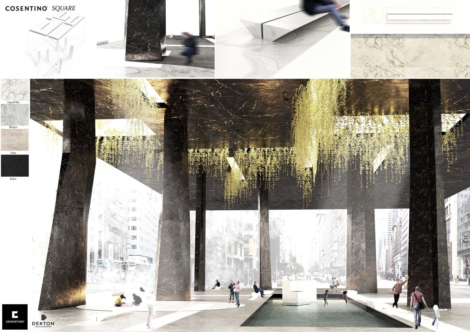 Image of 100 Cosentino Square s in Ganadores Cosentino Design Challenge 14 - Cosentino