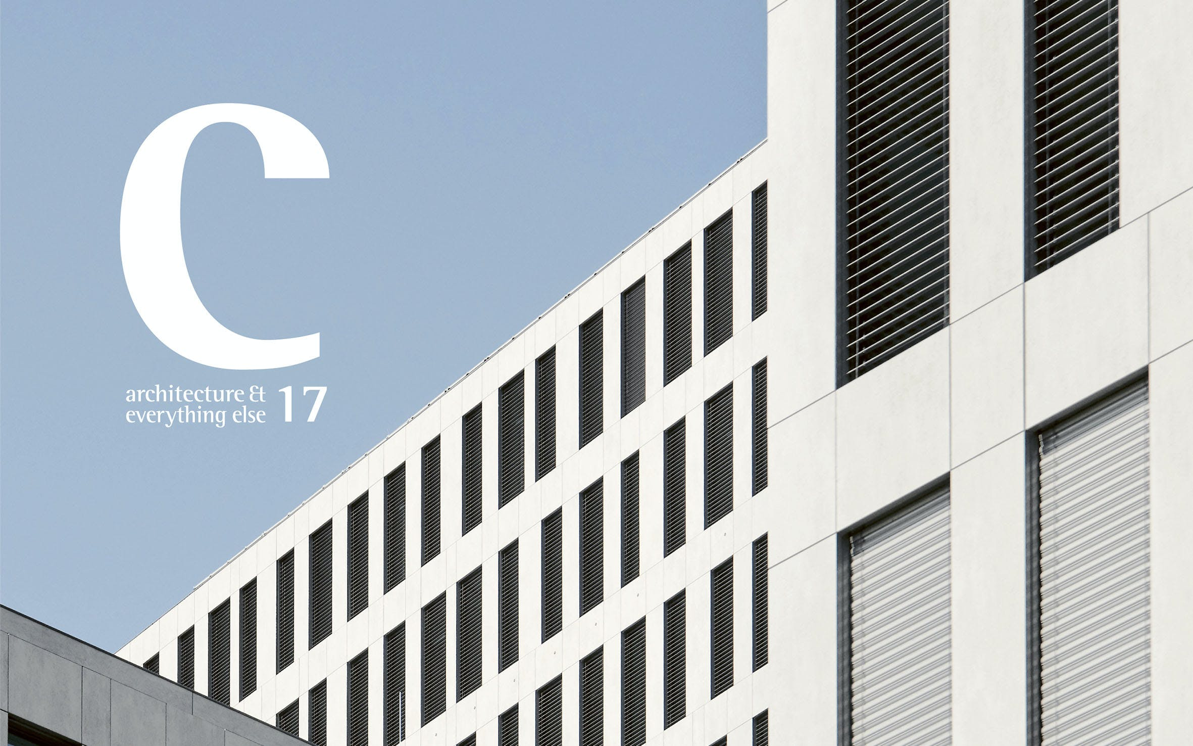 """Image of Cosentino 17 lr portada in """"C 17 - Architecture & Everything Else"""" - Cosentino"""