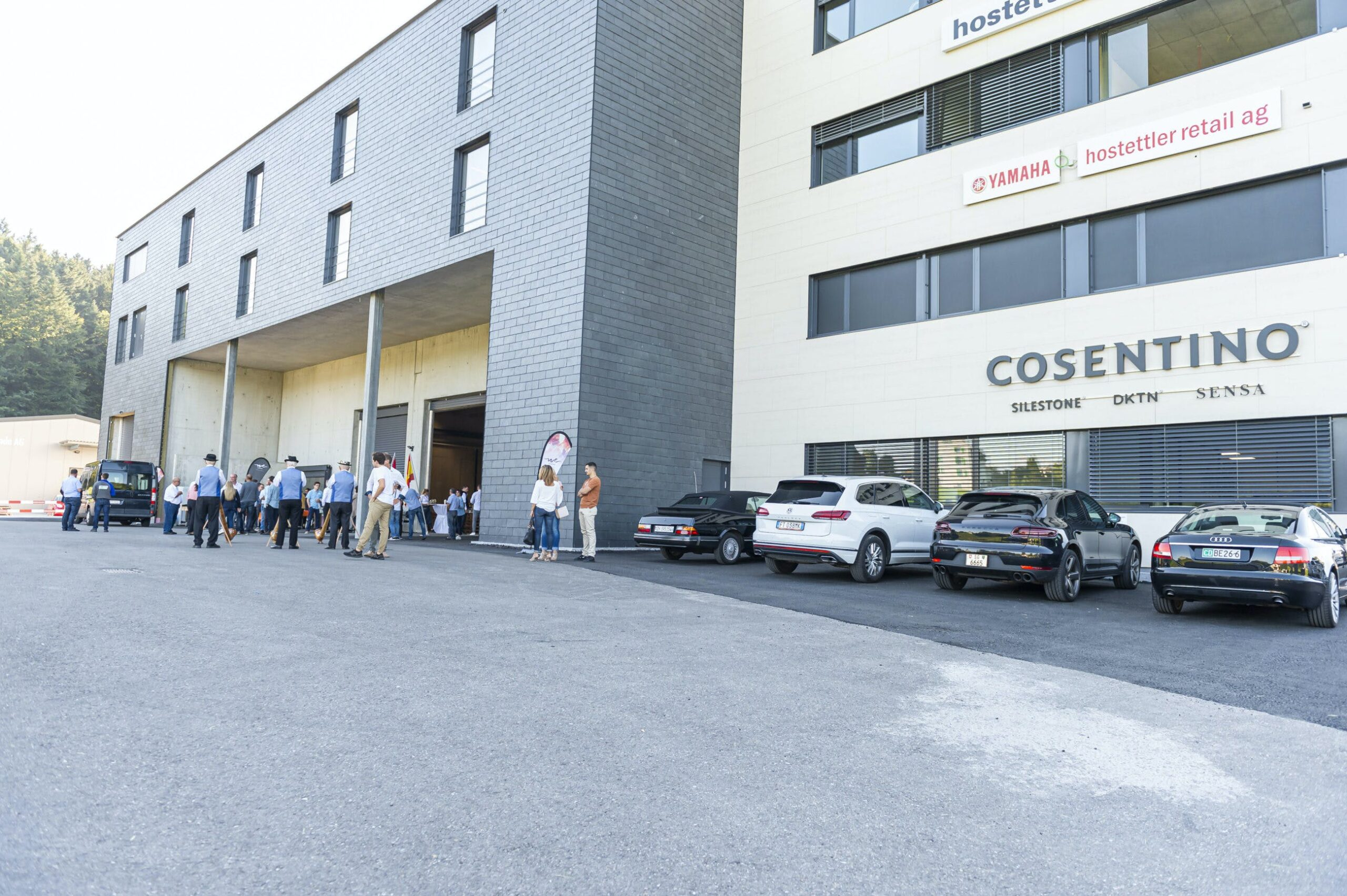 """Image of Cosentino Swiss opening 7 scaled in Cosentino estrena nuevo """"Center"""" en Suiza - Cosentino"""