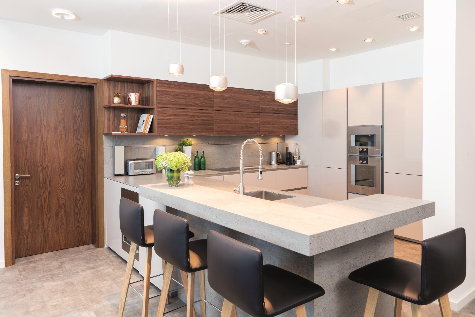 Image of MHEfinal in La cocina futurista de Oliver Goettling: diseño y funcionalidad en un espacio mínimo - Cosentino