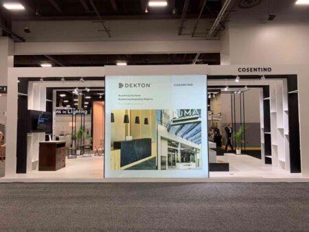 Image of Cosentino HDExpo21 Stand low in Dekton Slim, finalista en los SBID Product Design Awards - Cosentino
