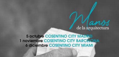 Image of Manos de la Arquitectura Cartel web portada in Ganadores Cosentino Design Challenge 14 - Cosentino