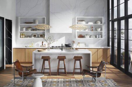 Image of calacatta gold encimera silestone o marmol in Home Cosentino - Cosentino