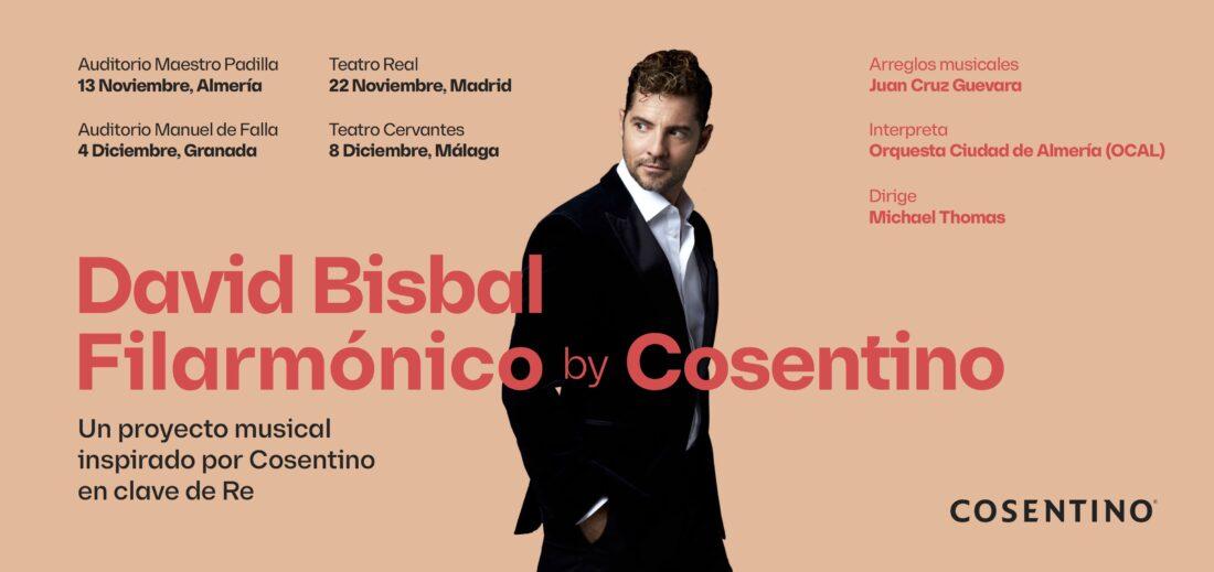 Cosentino presenta un ciclo de conciertos con David Bisbal