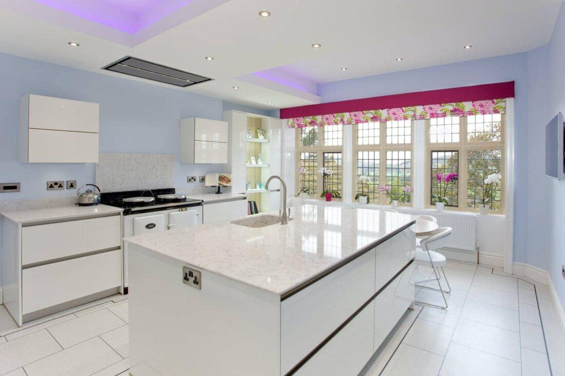 Image of cocina silestone sin marmol in Silestone o mármol, ¿cuál es la mejor opción para tu hogar? - Cosentino