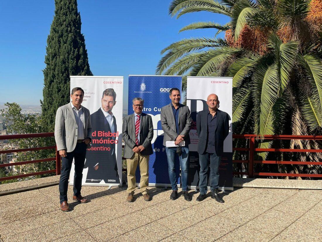 Cosentino presenta en Granada y Almería los conciertos del proyecto David Bisbal Filarmónico