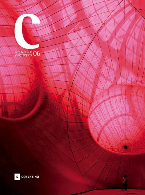 Image of Architecture Everything else cover 6 in C Magazine - Cosentino