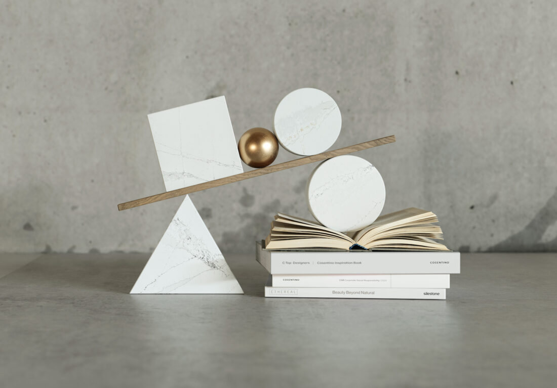 Silestone® lance la nouvelle collection durable Ethereal,  inspirée du magnifique marbre naturel