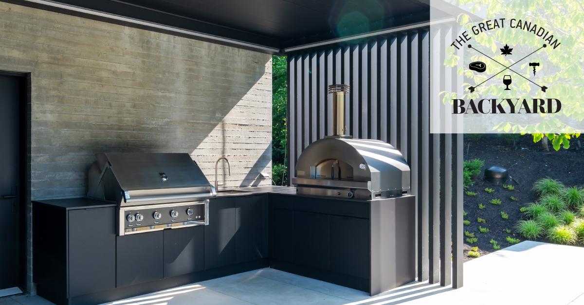 Image of FB CdnBackyard 3 in Série Great Canadian Backyard : Sherwood Outdoor Kitchens crée l' ultime espace de vie extérieur divertissant - Cosentino