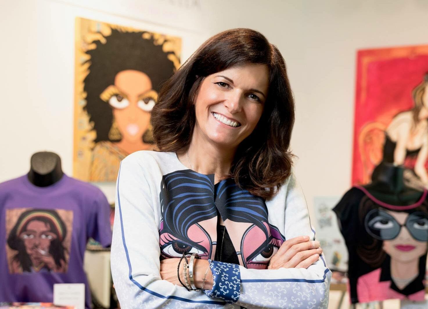 Image of Michelle Vella 1 1632241723 99.245.1.193 e1632244912354 in Cosentino présentera les œuvres de l'artiste pop Michelle Vella à Toronto! Showroom CosArt Événement - Cosentino