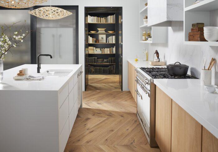 Image of Theresa Casey Organic Loft Silestone 9 1 in Do you dream of the perfect white kitchen? - Cosentino
