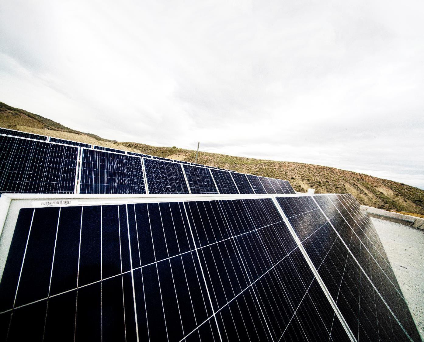Image of placas solares in Hybriq - Cosentino