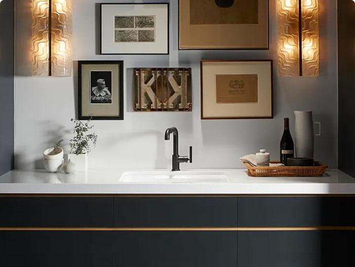 Image of img banos revest interesarte 1 in Dallage de salle de bains - Cosentino